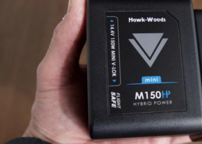 Hawkwood mini v lock batteries 150w kit - 1