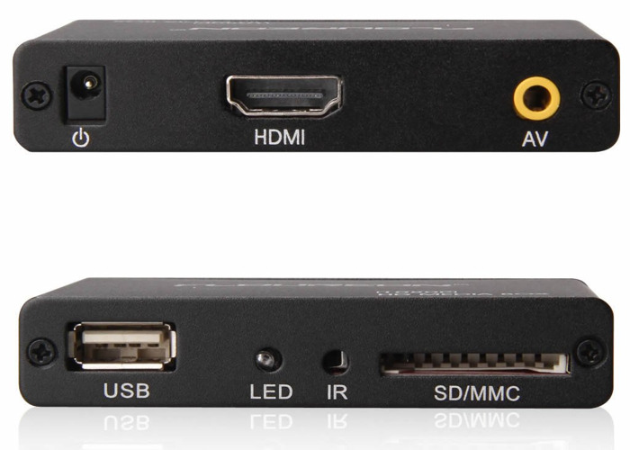 HD Media Box Player Full HD 1080P HDMI Out, 5.1 Surround - 2