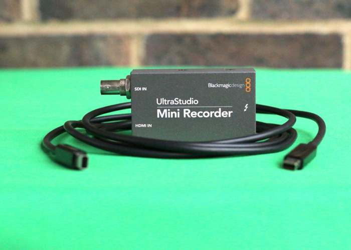 1x Blackmagic Ultra Studio Mini Recorder with Thunderbolt Cable (live stream & capture) - 1