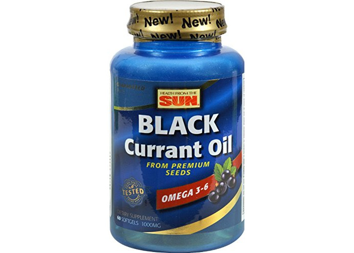 Health From The Sun Black Currant Oil, 60 Softgels - 1