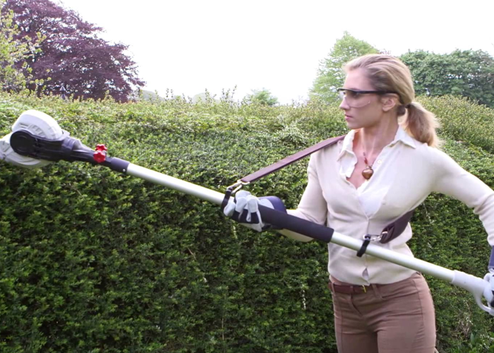 Hedge trimmer extendable electric - 1