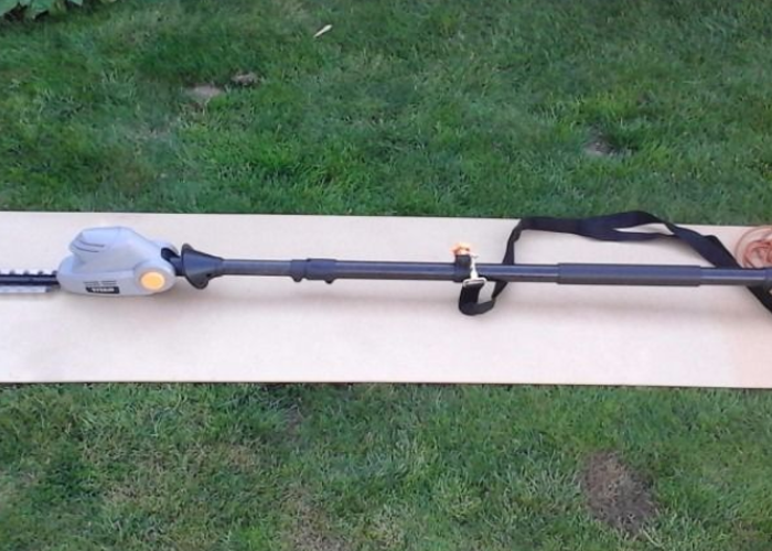 Hedge trimmer extendable electric - 2