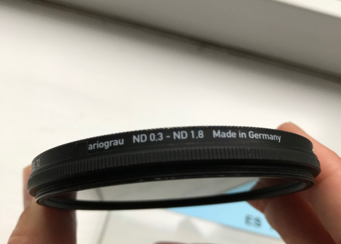 Heliopan Variable ND Filter 72mm - 2