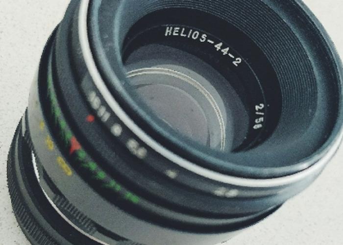 Helios 44-2 58mm F/2 Lens  - 1