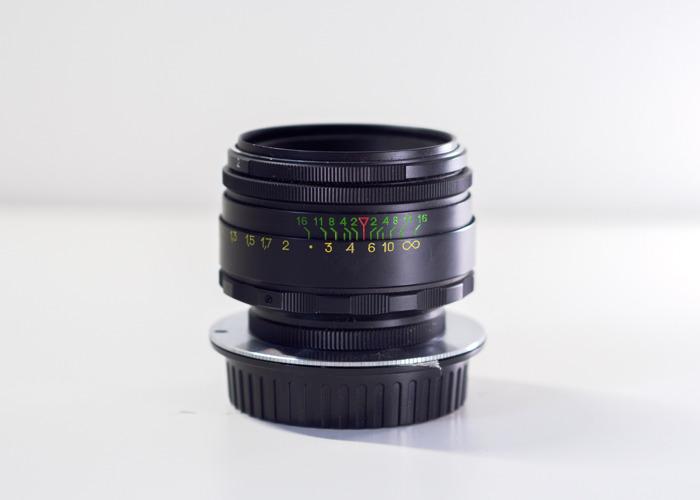 Helios 44-2 58mm F2 Lens - Amazing Bokeh Vintage Lens - 1
