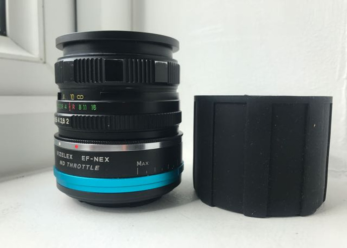 Helios 44M-4 + Adapter/ Variable ND filter to Sony - 1