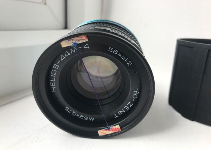 Helios 44M-4 + Adapter/ Variable ND filter to Sony - 2