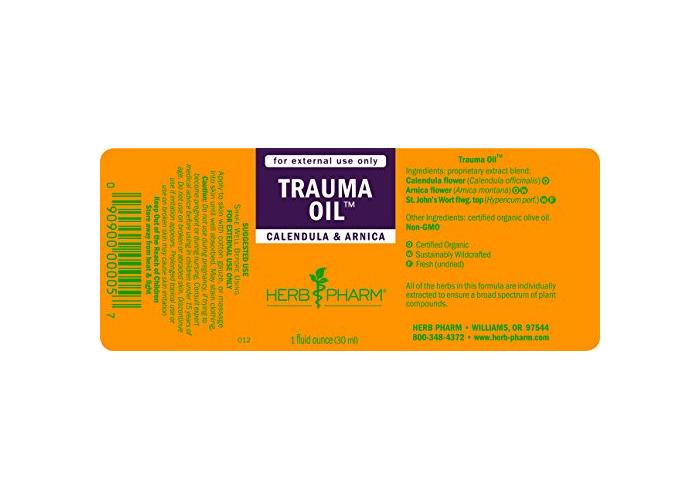 Herb Pharm Trauma Oil, 30ml - 2