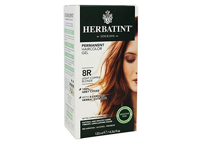 Herbatint Hair Color, 8R Light Copper Blonde, 4.56 fl oz - 1