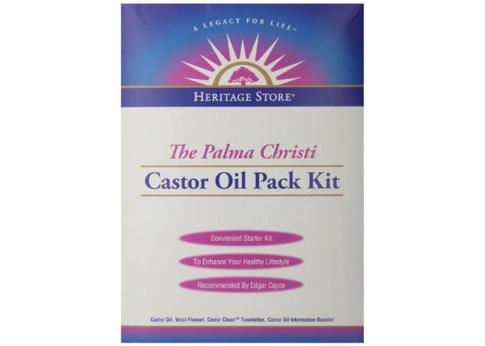 Heritage Store Castor Oil Pack Kit - 1