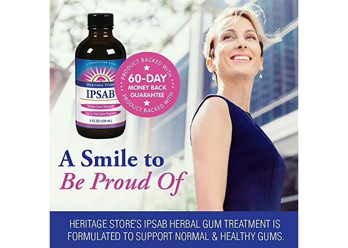 Heritage Store IPSAB Herbal Gum Treatment, 4 Ounce - 2