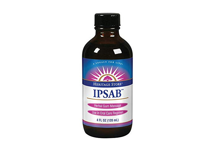 Heritage Store IPSAB Herbal Gum Treatment, 4 Ounce - 1