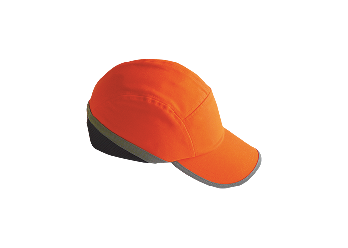 Hi Vis Bump Cap  Orange    R - 1