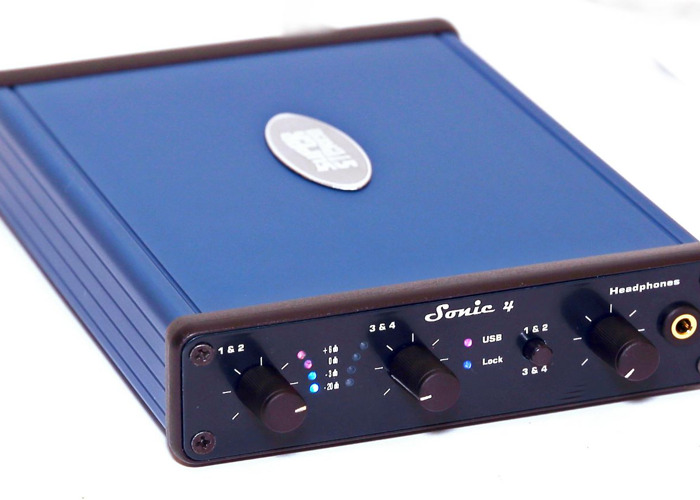 High quality 4 channel USB interface, Sonic 4 - 1