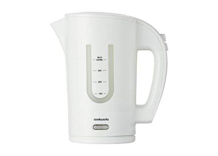 High Quality Cookworks Travel Kettle Offered in White - 1