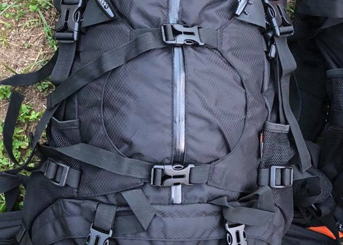 HIKING or MOUNTAINEERING BAG 50+5L - 1