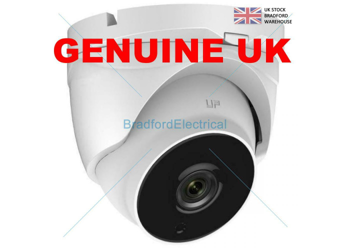 HIKVISION UK 2MP HD TVI AHD CCTV DOME OUTDOOR & INDOOR CAMERA 2.8mm LENS 20M IR - 1
