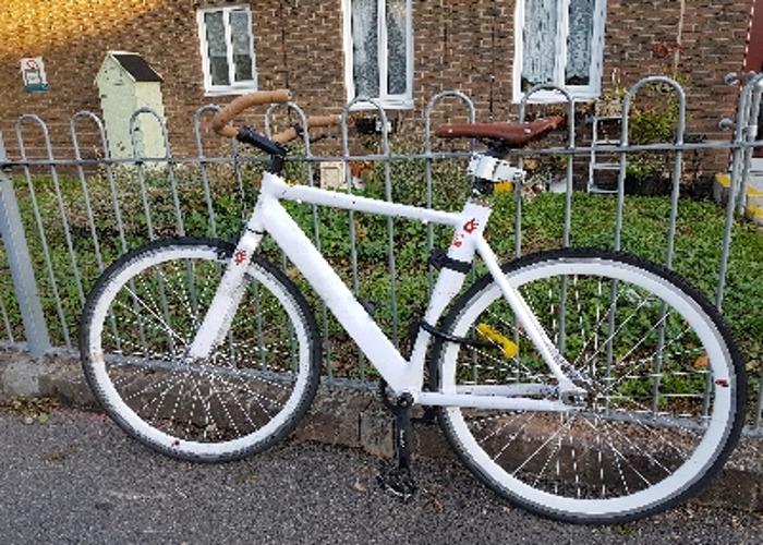 Hipster fixie bike  - 2