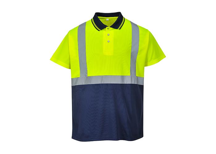 Hi-Vis 2-Tone Polo Shirt  YeNa  3 XL  R - 1