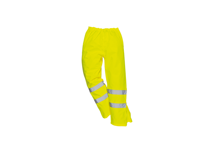 Hi-Vis Breathable Trousers  Yellow  Large  R - 1