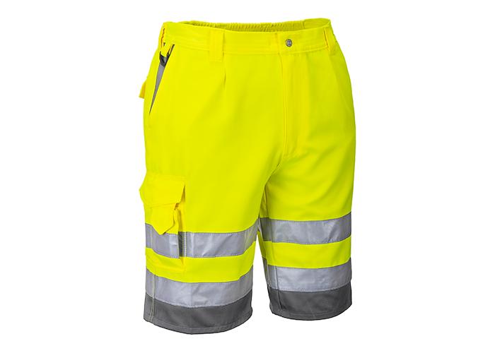 Hi-Vis P/C Shorts  YeGrey  XL  Y - 1