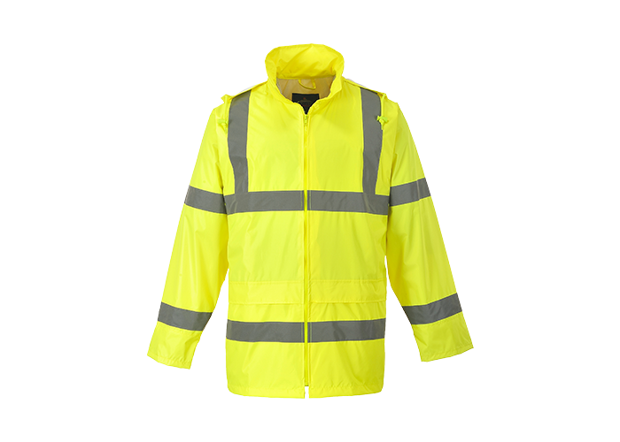Hi-Vis Rain Jacket  Yellow  3 XL  R - 1