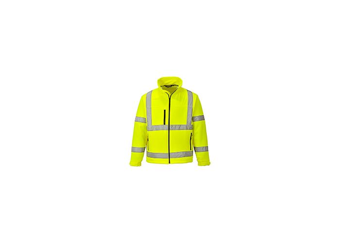 Hi-Vis Softshell Jacket  Yellow  Medium  R - 1