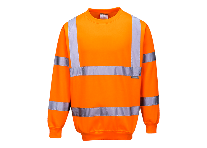 Hi-Vis Sweatshirt  Orange  XXL  R - 1