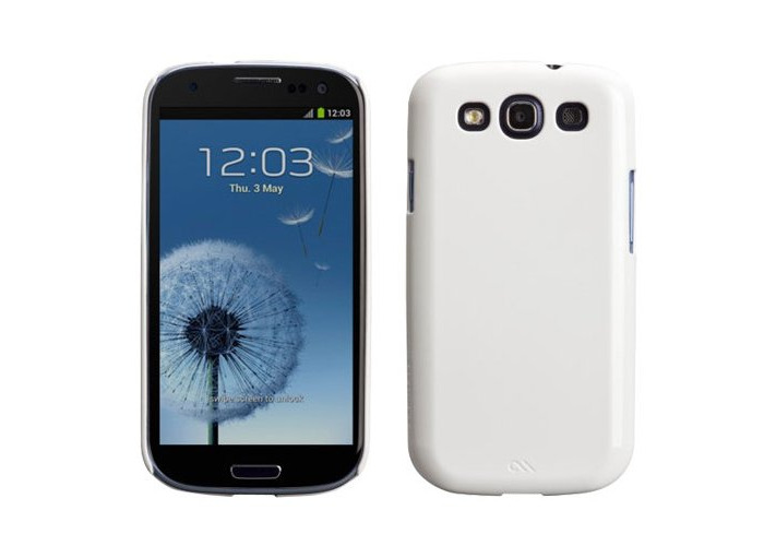 Hlle Barely There Case for Galaxy S3 in White - 1