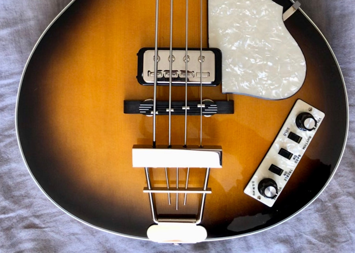 Hofner HCT-500/2 Contemporary Club Bass - 2