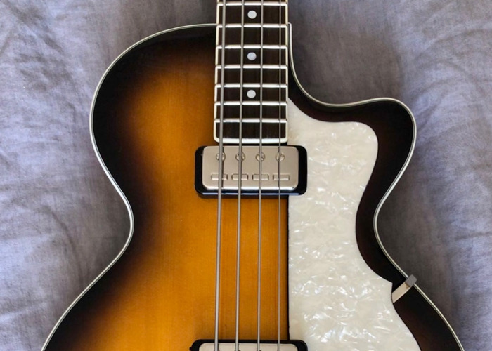 Hofner HCT-500/2 Contemporary Club Bass - 1