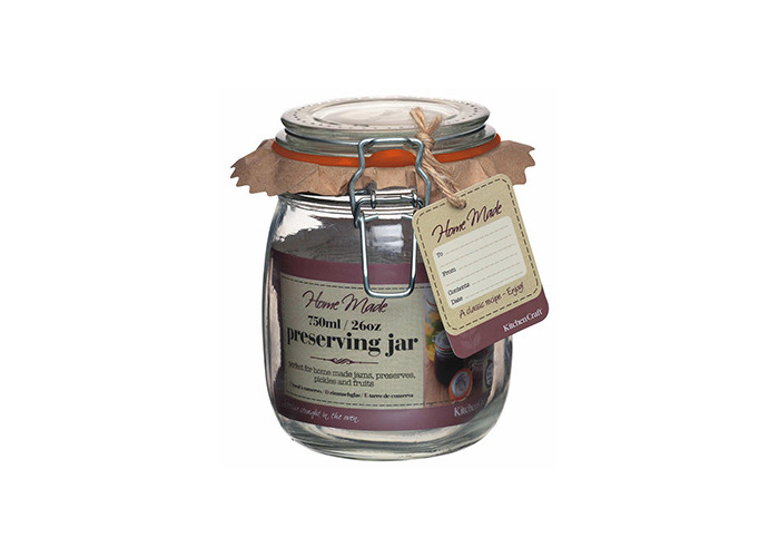 Home Made Glass 750ml Preserving Jar Set Of 6 - 2