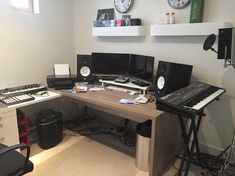 Home Music Production Recording Studio - 1