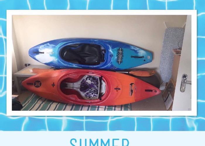 Rent Honcho and Perception Kayaks in Twickenham
