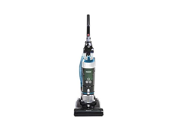 Hoover Breeze Evo TH31BO01 Bagless Upright Vacuum Cleaner, Black & Turquoise - 1