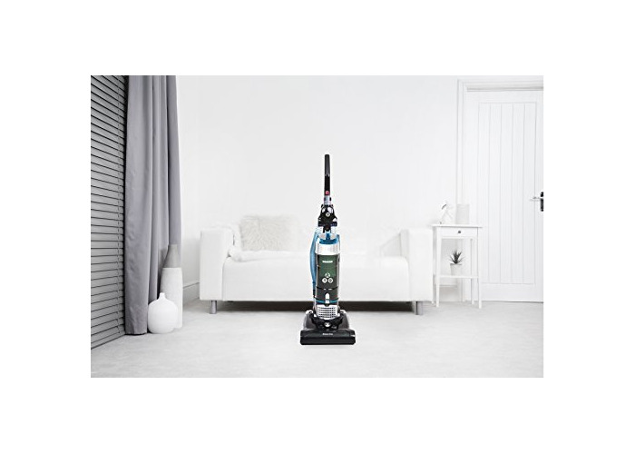 Hoover Breeze Evo TH31BO01 Bagless Upright Vacuum Cleaner, Black & Turquoise - 2