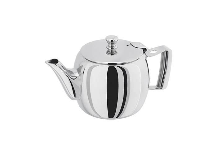Horwood ST06 500 ml Traditional Teapot, Silver - 1