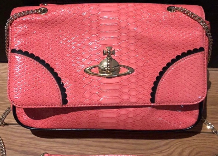 19794be6306 Rent Hot pink Vivienne Westwood chain bag in Eccles   Fat Llama