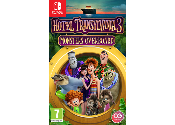 Hotel Transylvania 3: Monsters Overboard (Nintendo Switch) [video game] - 2