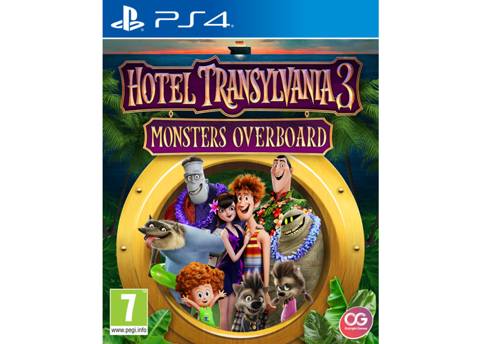 Hotel Transylvania 3: Monsters Overboard (PS4) [video game] - 2