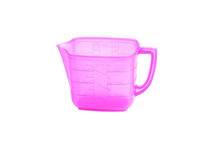 Household 1 litre Measuring Jug Pink - 1