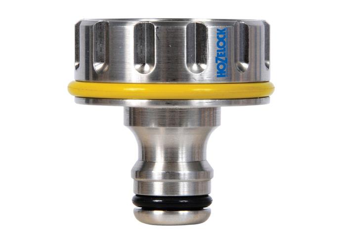 """Hozelock 1"""", 33.3mm Pro Metal Outdoor Tap Connector - 2"""