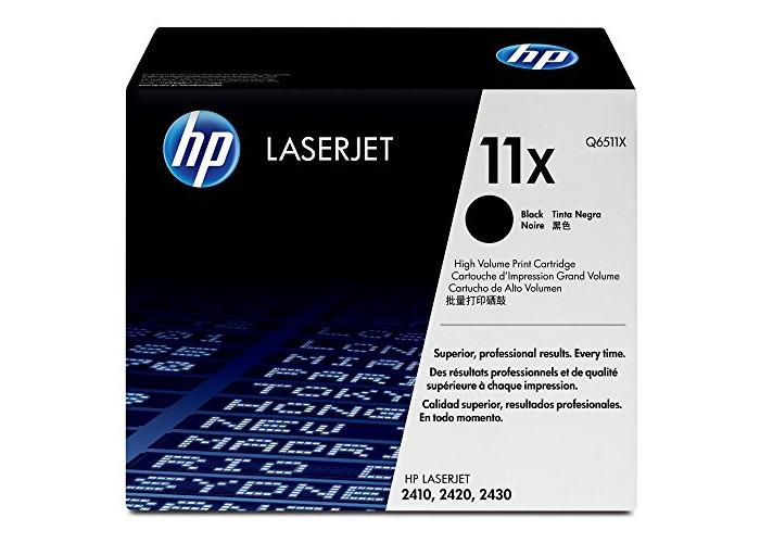 Hp ( Hewlett Packard ) Laserjet Black Laser Toner Cartridge Q6511X ( 11X )  For 2410/2420/Dn/N/D/2430/2430/T/Dtn/Tn - 1