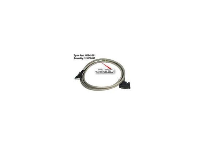 HP CABLE VERTICAL OFSET,SCSI 12FT 341177-B21, 110942-001,341177-B21 (341177-B21) - 2