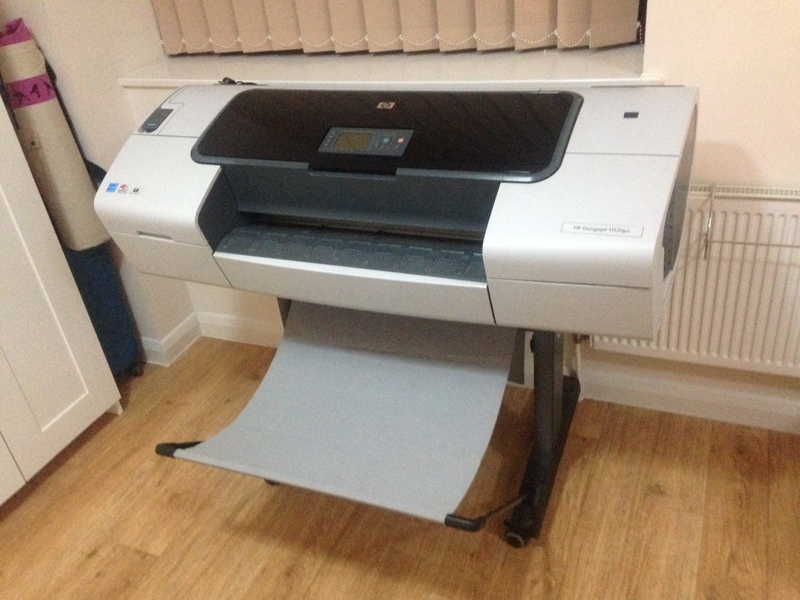 HP Designjet T1200PS - 2