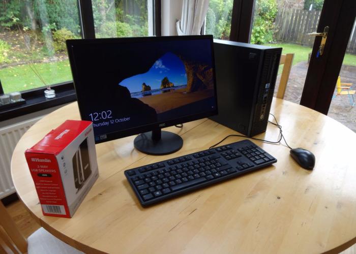 HP DeskPro Desktop PC - 1