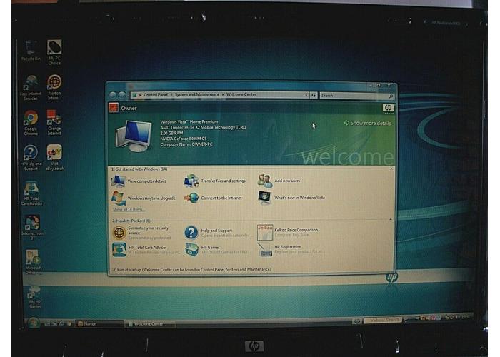 Buy hp laptop DV9700 Windows Vista AMD 64x2 | Fat Llama