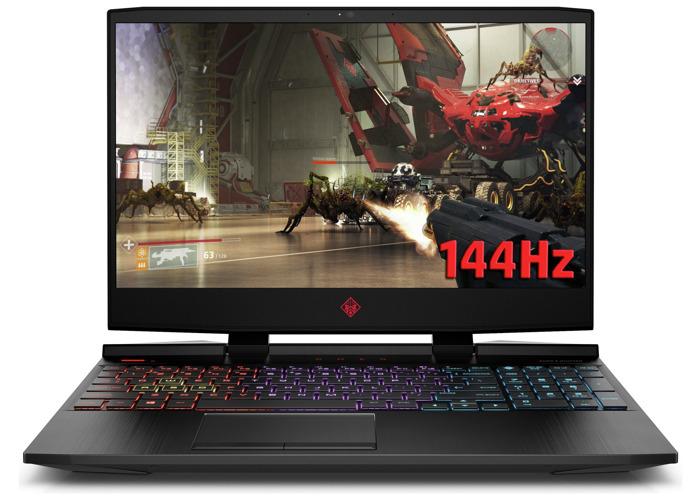 HP Omen 15.6 Inch i7 8GB 1TB 256GB GTX1660Ti Gaming Laptop - 1