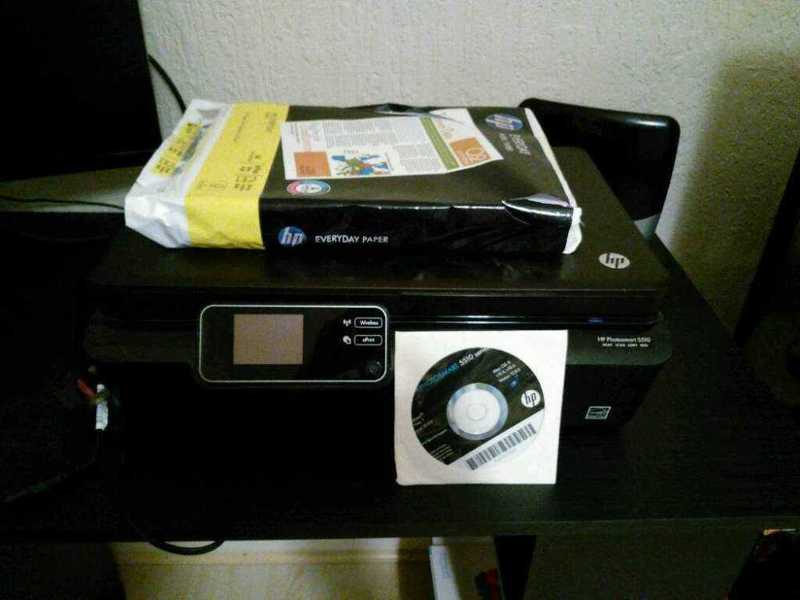 HP Photosmart 5510 All-in-one - 1