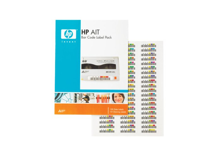 HP Q2005A bar code label - bar code labels - 1
